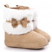 Baby Shoes For 0~18M, Xinantime Toddler Soft Crib Bowknot Keep Warm Soft Sole Snow Boots