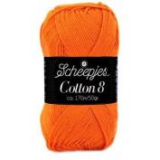 Scheepjes Cotton 8 - 716 Orange
