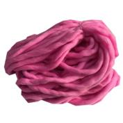 Xshuai Ball Woollen 10 Colours Wool Chunky Yarn Super Soft Bulky Arm Knitting Wool Roving Crocheting for Needle Felting Hand Spinning DIY Homemade Craft