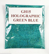 (GH15 - Holographic Green Blue 10g) Cosmetic Glitter Glitter Eyes Glitter Tattoo Glitter Lips Face And Body Bath Bombs Soap