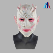 MASCARELLO® Latex Zombie Ice Walker Creature King of The Night Halloween Mask Movie Party Mask