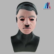 MASCARELLO® Realistic Latex Mask Handsome Male Man Disguise Halloween Fancy Dress Mask