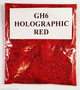 (GH6 - Holographic Red 10g) Cosmetic Glitter Glitter Eyes Glitter Tattoo Glitter Lips Face And Body Bath Bombs Soap