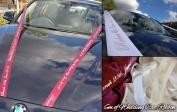 Personalised 6m Wedding Car Ribbon Various Colours Handmande Kit High Quality