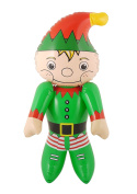 Inflatable Santa Helper Elf Figure Character Christmas Decoration Kids Toy