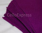 Pack of 5 Sheets - 15cm THISTLE - 100% Acrylic Craft Felt 15cm x 15cm Squares for Crafting, and Soft Toy Making