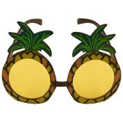 2 x Pineapple Sunglasses Glasses Specs Hawaiian Hula Fancy Dress Up Costume Accessory