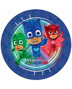 Pj Masks Pack Of 8 Party Plates