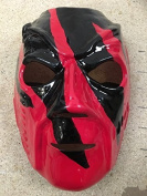 Kane Debut Hell In A Cell - WWE Wrestling Fancy Dress Up Costume Mask - Halloween - W/ Elasticated Strap