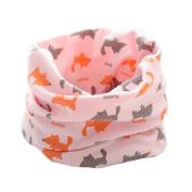 Butterme Baby Boys Girls O Ring Neck Warmer Cotton Collar Scarves Neck Scarves