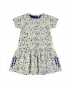 Lilly & Sid Girls Corset Is Dress - Navy-Peppermint - Navy-Peppermint - 3-4 Years