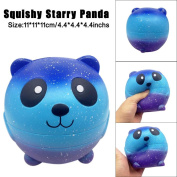Starry Cute 11cm Panda Baby Cream Scented Squishy Slow Rising Squeeze Kids Toy