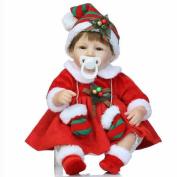 HTTMYY Simulation Baby Reborn Doll Lifelike Lovely Christmas Gift Princess Girl Toys Pretty 40cm