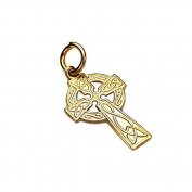 Sayers London 9ct Gold Celtic Cross Pendant