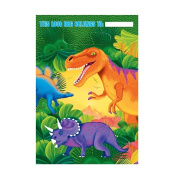 Kids Unisex Prehistoric Dinosaur Party Loot Gift Bags