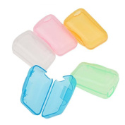 5Pcs Portable Toothbrush Cover Case Travel Brush Cleaner Protect Cap