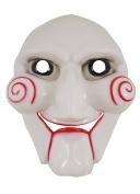 Adults Scary Jigsaw Face Mask Halloween Fancy Dress Accessory