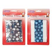 Metallic Snowflake Frills - 2 Designs - RP