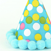 Blue Paper Cone Party Hat Birthday Decorations Accessories Party Favours