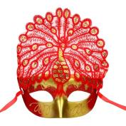 JoyJay Sexy LED Halloween Masquerade Mask Elegant Eye Mask Glamourous Face Mask Masquerade Ball Carnival Fancy Party