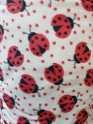 Anti Pil Polar Fleece Fabric Material For Bedding Textile Craft - LadyBird
