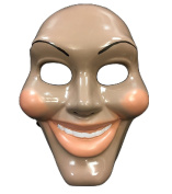 The Purge Original Face Movie Mask - Halloween Fancy Dress Up Costume - Universal Size - Hard Plastic