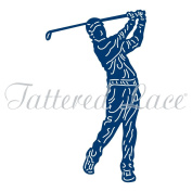 Tattered Lace VINTAGE GOLFER Craft Cutting Die - TLD0364 - FREE UK P & P