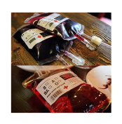 Blood Bag for Drink Halloween Night Party Blood Bag/Container 350Ml x 5 bags Vampires Zombie Party Favours