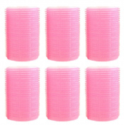 Milopon Hair Rollers Bangs Curlers Self-Adhesive Hair Curler Hair Tools Hairdressing Curlers 6pcs