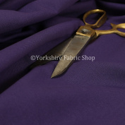 Plain Purple Colour Poly Cotton Furnishing Curtain Upholstery Fabric Textile