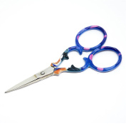"Quantum Art Stainless Steel Embroidery Scissors Straight 90mm - 3.5"" inch - ESS-01"