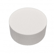 YNuth 1 Pc Cake Dummy Styrofoam Slice Round White Baking Diameter Pratice For Beginners