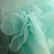 Pastel Aqua Mint Green Soft Tulle Special Occasion Fabric 150cm wide - Sold by the metre