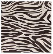 * 5 SHEETS * Zebra Animal Print ~ Acid Free Tissue Wrapping Paper Sheets 35x45cm