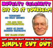 DIY - Do It Yourself Face Mask - Hugh Hefner Celebrity Face Mask