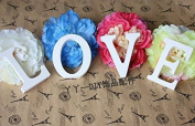 Liroyal MR & MRS Wooden Letters Wedding Decoration LOVE