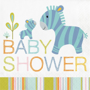 Happi Jungle Baby Shower Napkins