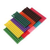 50Pcs Multi-Colour Hot Melt Adhesive Gule Stick 7 X 100mm Used for Plastic Wood Paper