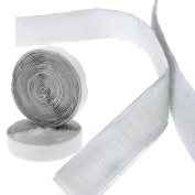 20MM x 5M Hook Loop Tape Self Adhesive Sticky Backed White