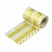 A-goo 10 Rolls Decoration DIY Craft Washi Sticker Adhesive Paper Tape
