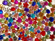 Rhinestone Jazzy Jewels Flat Backed Assorted Colours 25g