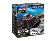 """Revell Control 24710 - Technik RC Car Kit """"Dakar"""" with 27 Mhz remote control - Remote controlled offroader for easy to assemble, easy to fit, with large & grip tyres - RC Kit Dakar"""