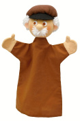 ABA 31 cm Old Man Hand Puppet