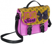 JoJo Bows Girls Mini Satchel Handbag Gold Pink & Black JoJo Siwa Shoulder Bag - Perfect Gift This Christmas !