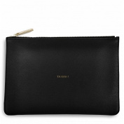 Katie Loxton Women's Ta Dah Clutch Bag, Black, 24 X 16-cm