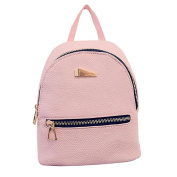 Fashion Faux Leather Mini Backpack Girls Travel Handbag School Rucksack Bag
