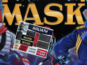 MASK vintage Goliath repro die cut stickers/decals/labels for KENNER M.A.S.K Goliath Stickers