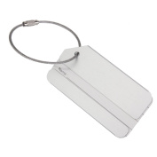 Philna12 Travel Metal Luggage Suitcase Tag with Chain