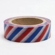 'disok – Washi Tape Stripes Air Mail ""