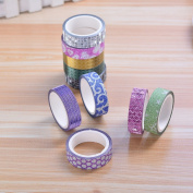Caxmtu 10Pcs Masking Tape Lovey Printting Cartoon Diy Tpe for Kids Decorative Tapes